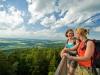 Blick vom Aussichtsturm Koppenstein am Soonwaldsteig